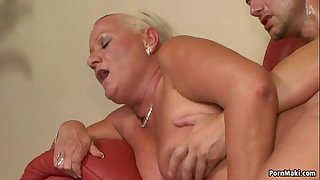 Busty Granny Anal