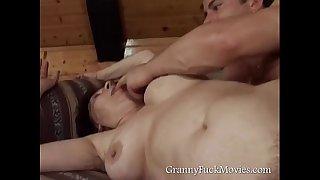 Nude Grandma Doggy Banged
