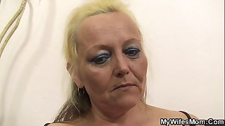 Old mother-in-law taboo photosession