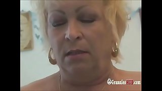 Squirting Wrinkly Grannies Ride A Sybian