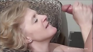 Hot sex with a very attractive 40yr old blonde amateur, after an interview