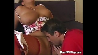 Fucking My Chubby And Busty Mama In Stockings