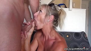 Mature 50 year old Anal --- Marina Beaulieu (French MILF)