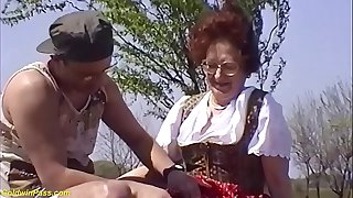 hairy bush 75 years old mom brutal outdoor fucked
