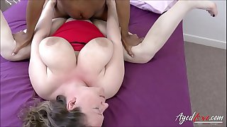 AgedLovE British Mature Interracial Hardcore