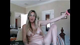 Granny on web camera bvr
