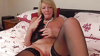 EuropeMatureMature blonde Amy solo masturbation