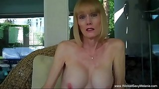 Stuffing Grandma's Face With Cock