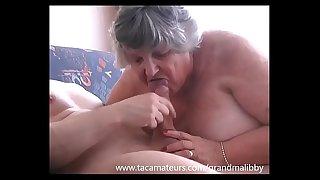 GrandmaLibby fucks young stud