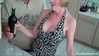 Granny Has Intense Threesome