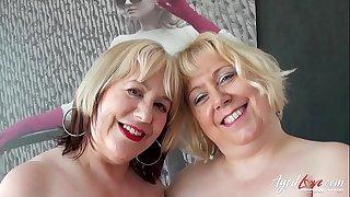 AgedLovE Hot Mature Trisha and Lexie Cummings Groupsex