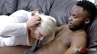 AgedLovE Lacey Starr Interracial Hardcore Footage