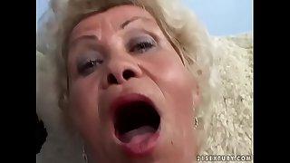 Granny Effie fucks in POV