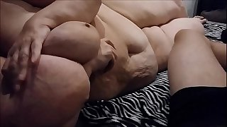 My greatest Titjob EVER huge saggy Granny Hangers