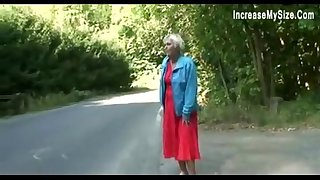 fuck young old car granny the in boy