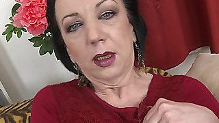 ENCHANTING GRANNY ZELMA S threatening menacing(56 y threatening o fearsome)