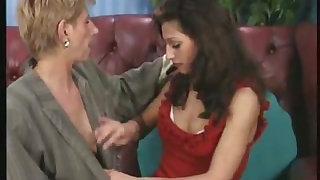 granny seduced a lesbian